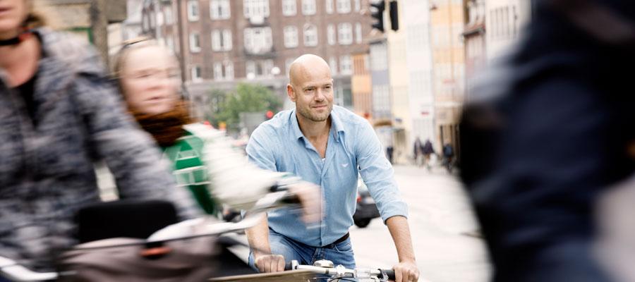 Flere cykler og mindre udstødning skal gøre København klimaneutral.