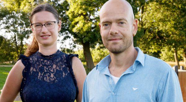 Enhedslistens borgmesterkandidat Ninna Hedeager Olsen og beskæftigelses- og intergrationsordfører Ulrik Kohl
