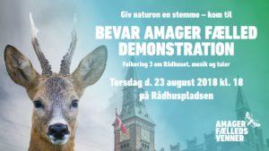 Bevar Amager Fælled demonstration @ København | Danmark